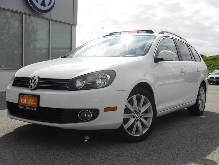 2013 Volkswagen Golf wagon 2.0 TDI Highline 6sp