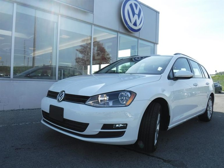 2015 Volkswagen Golf Sportwagon 1.8T Comfortline at w/Tip