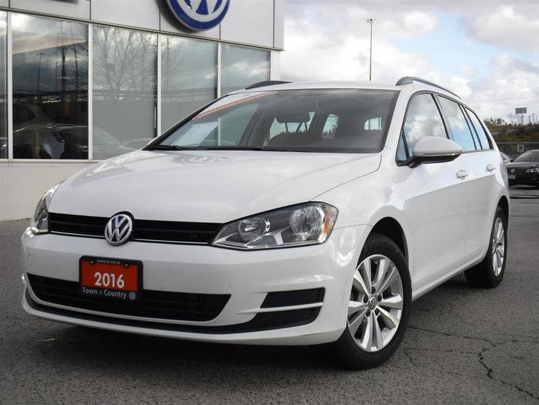 2016 Volkswagen Golf Sportwagon 1.8T Trendline 6sp at w/Tip