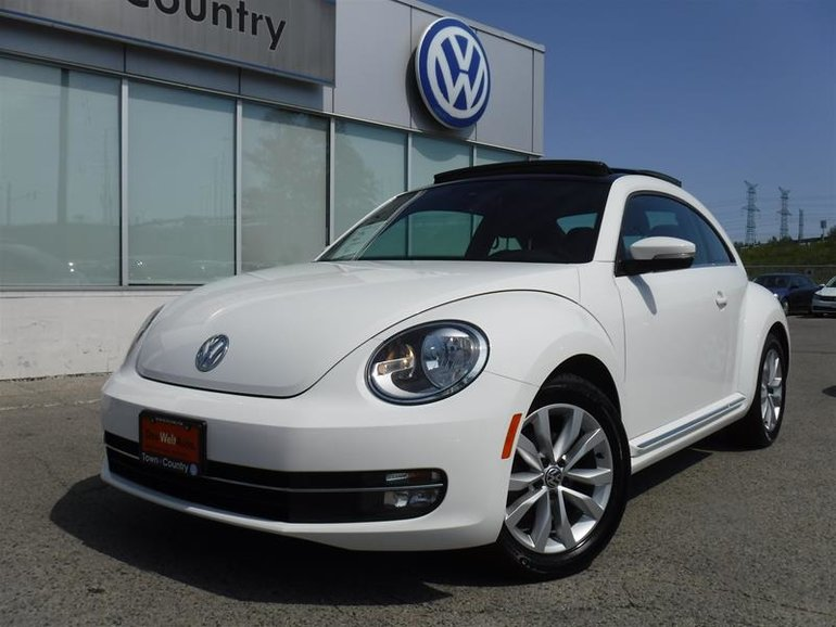 2014 Volkswagen The Beetle Comfortline 2.0 TDI 6sp DSG at w/ Tip