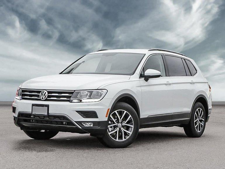 New 2020 Volkswagen Tiguan Comfortline - PRICE | Town ...