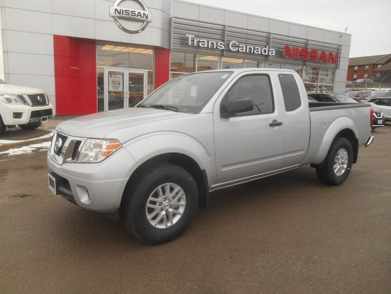 2019 Nissan Frontier King Cab SV Standard Bed 4x4 Auto