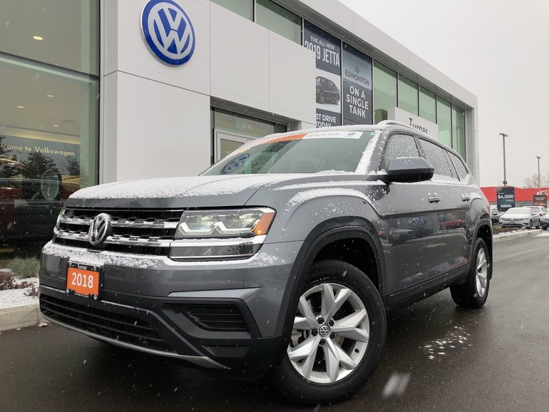 2018 Volkswagen Atlas 7 Passenger AWD **DEMO**