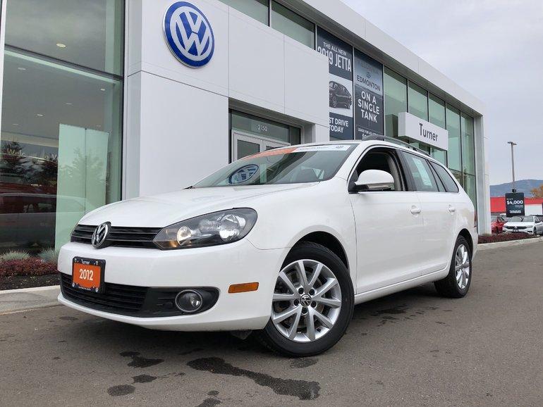 2012 Volkswagen Golf wagon Diesel