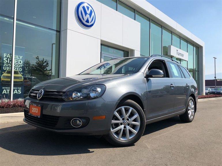 2013 Volkswagen Golf wagon Comfortline
