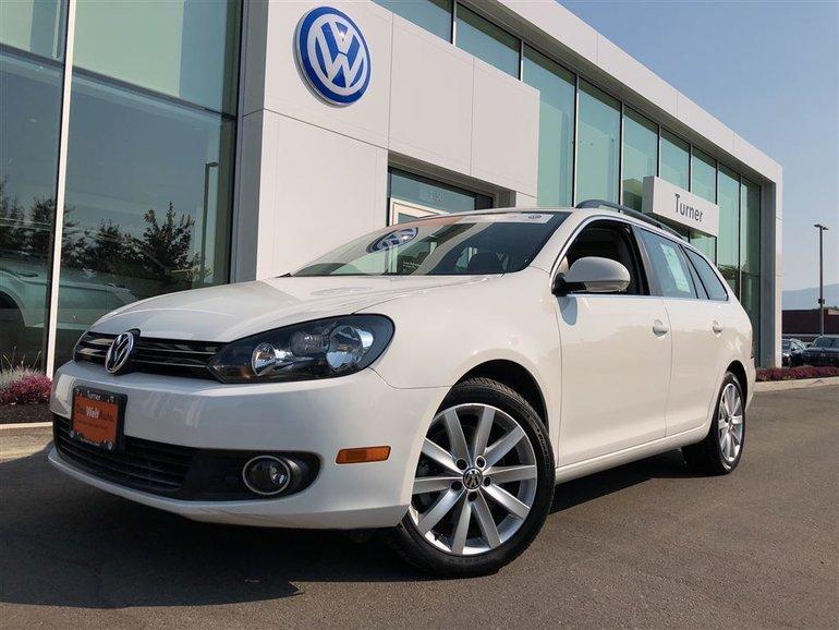 2013 Volkswagen Golf wagon Diesel, well equipped