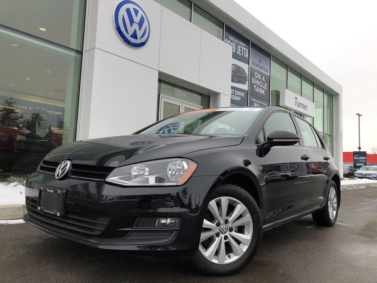 2015 Volkswagen Golf Comfortline W/Sunroof