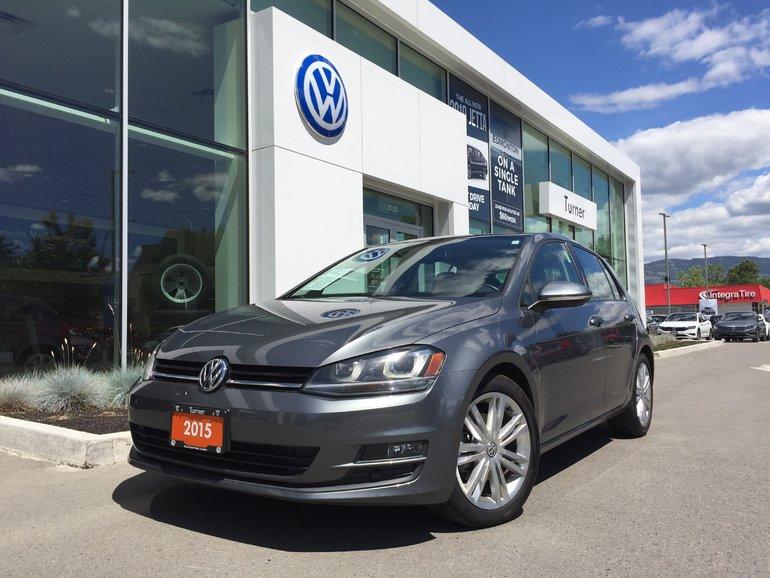 2015 Volkswagen Golf **DIESEL** HIGHLINE MANUAL W/ NAVIGATION