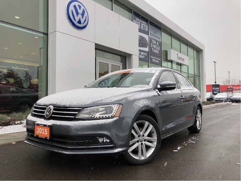2015 Volkswagen Jetta Highline TDI W/Sunroof