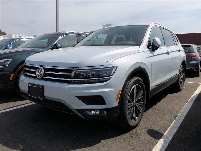 2018 Volkswagen Tiguan 2.0TSI HIGHLINE 8-SPEED AUTOMATIC 4MOTION