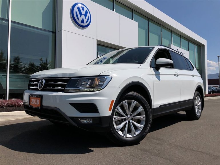 2018 Volkswagen Tiguan Trendline 4-motion