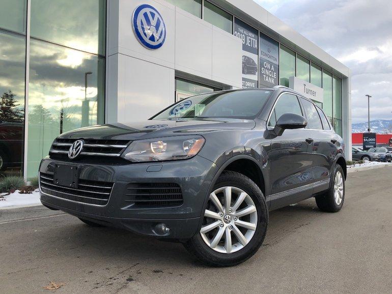 2014 Volkswagen Touareg Diesel all wheel drive