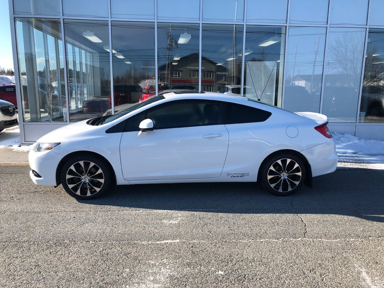 Honda Val D Or >> Val D Or Mazda Pre Owned 2013 Honda Civic Cpe Si For Sale