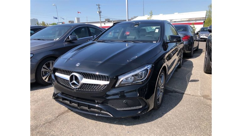 Mercedes-Benz CLA250 4MATIC Coupe 2018