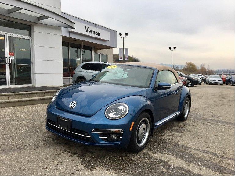 2018 Volkswagen Beetle Convertible 2.0 TSI Coast