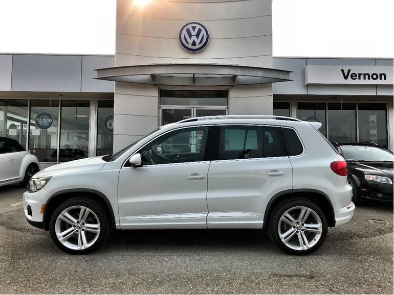 Used 2015 Volkswagen Tiguan Highline - R-Line WITH WARRANTY for Sale