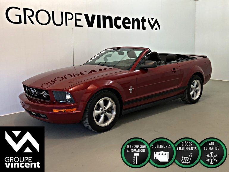 Ford Mustang 4.0L CONVERTIBLE ** CUIR ** 2008