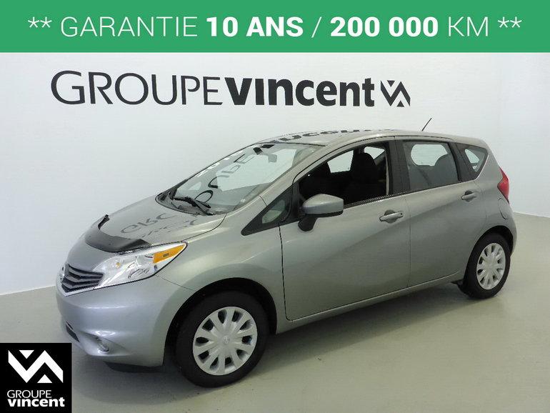 Nissan Versa NOTE **GARANTIE 10 ANS** 2015