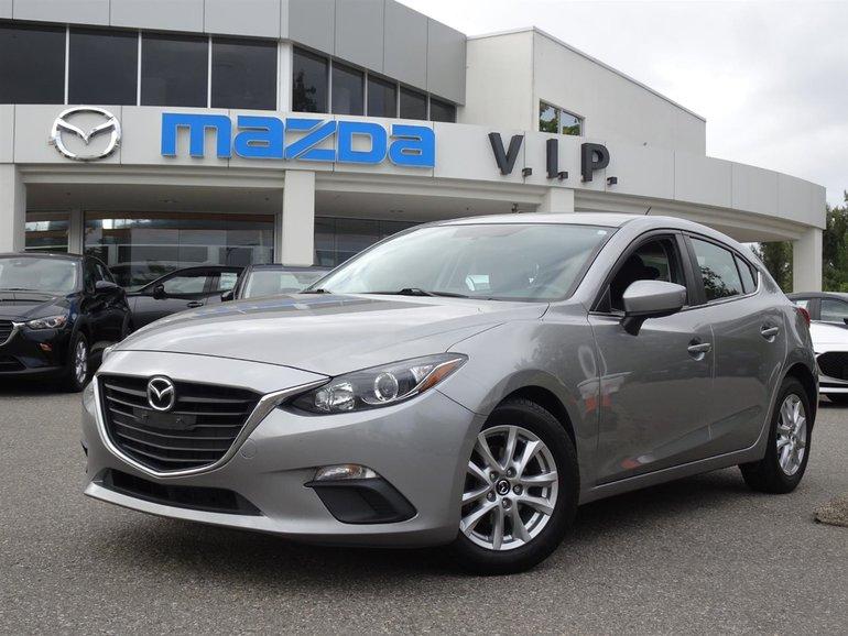 2015  Mazda3 Sport GS 6 Speed Manual