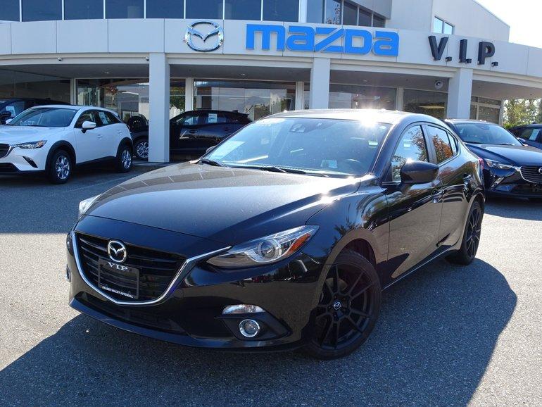 2016 Mazda Mazda3 GT, TECH PACKAGE