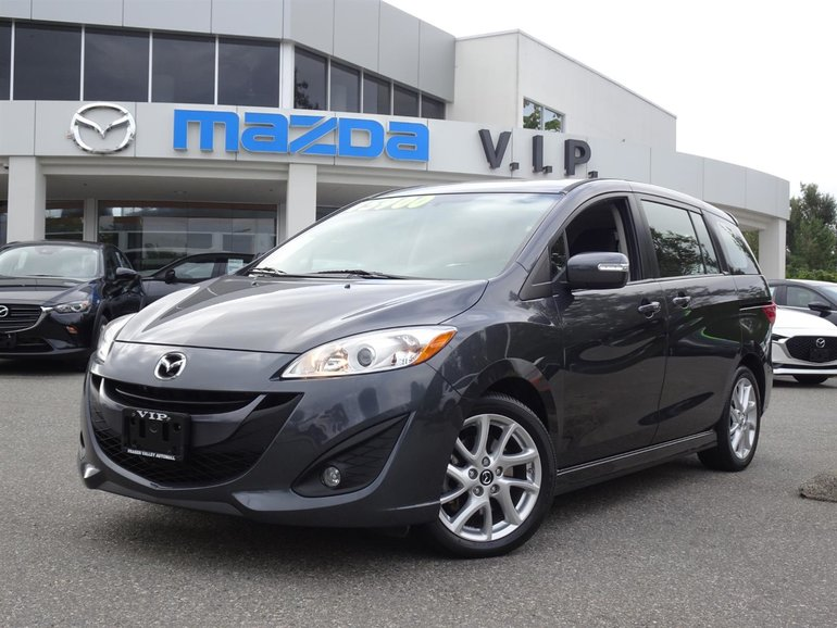 2014  Mazda5 GT with Moonroof