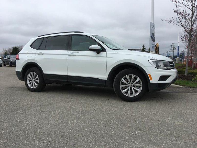 2019 Volkswagen Tiguan Trendline 2.0 8sp at w/Tip 4M