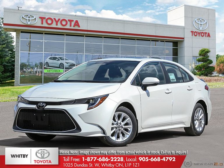 New 2020 Corolla Xle For Sale 28 240 Whitby Toyota Company