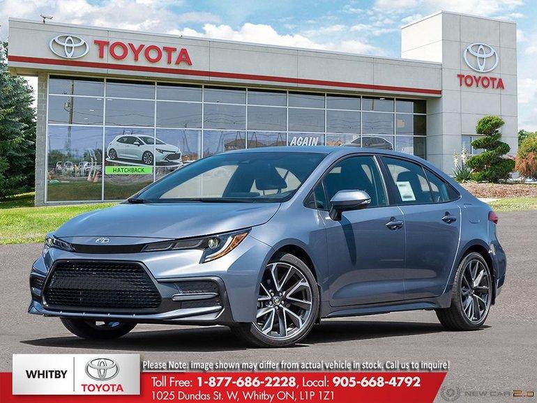 2020 Toyota COROLLA XSE CVT XSE