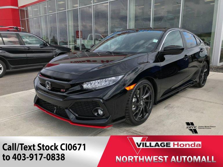 2018 Honda Civic CIVIC 4D L4 SI 6MT