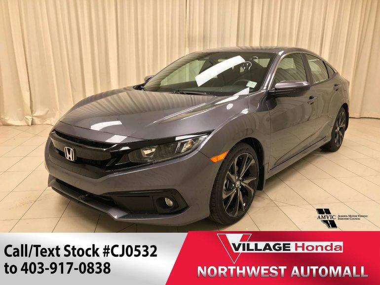 2019 Honda Civic CIVIC 4D SPORT CVT