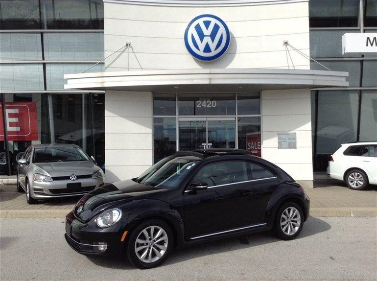 2014 Volkswagen Beetle 1.8 TSI Highline w/Nav.