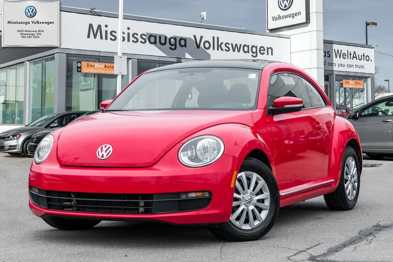 2016 Volkswagen Beetle 1.8 TSI Tendline w/ROOF/BACKUP CAM