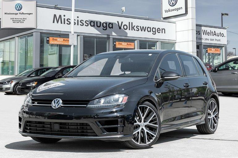 2016 Volkswagen Golf R GOLF R /LOW KMS/292HP