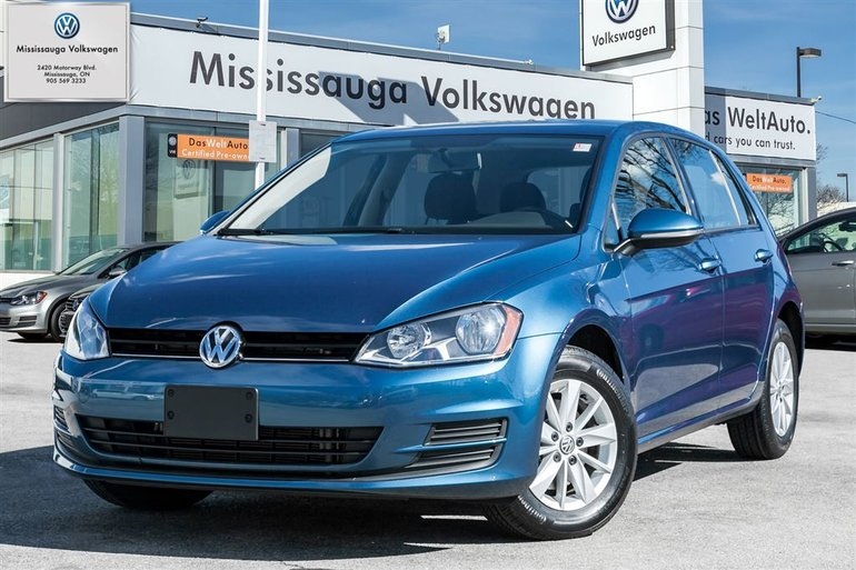 2015 Volkswagen Golf 1.8 TSI Trendline/Cruise package.