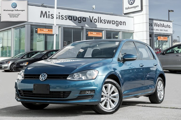2016 Volkswagen Golf 1.8 TSI Comfortline/PANO ROOF/BACK UP CAM