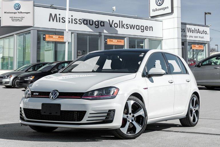 2015 Volkswagen GTI 5-Door Autobahn/LEATHER/ROOF/NAVI