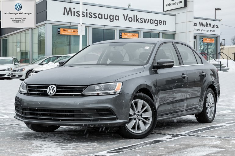 2015 Volkswagen Jetta 2.0L Trendline+/SUNROOF/BACKUP CAM
