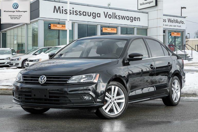 2015 Volkswagen Jetta 1.8 TSI Highline/TECH PKG/ROOF/LEATHER/NAV