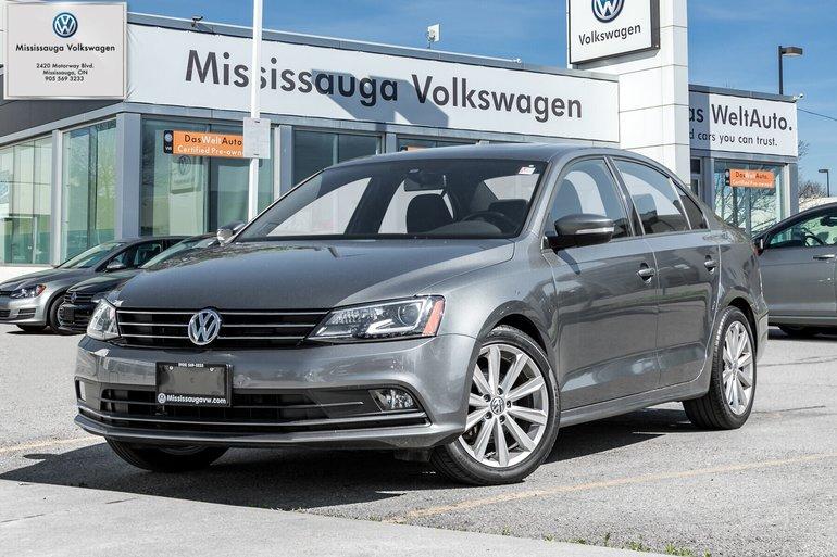 2016 Volkswagen Jetta 1.4 TSI COMFORTLINE+/SPORT PKG/BACK UP CAM