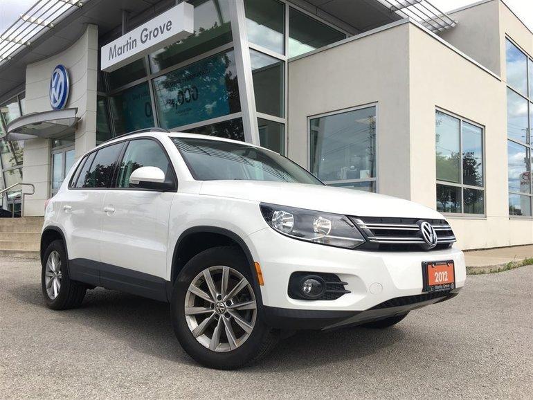 2012 Volkswagen Tiguan COMFORTLINE CONNECTIVITY PKG..LOW KMS!