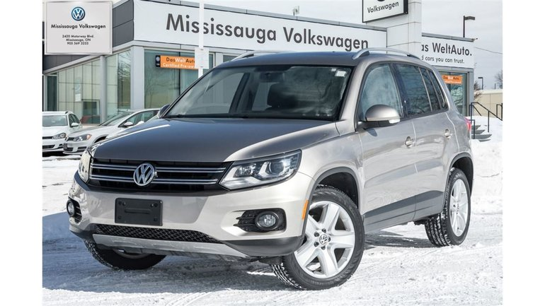 2015 Volkswagen Tiguan Comfortline W/ Appearance & Tech. Packages
