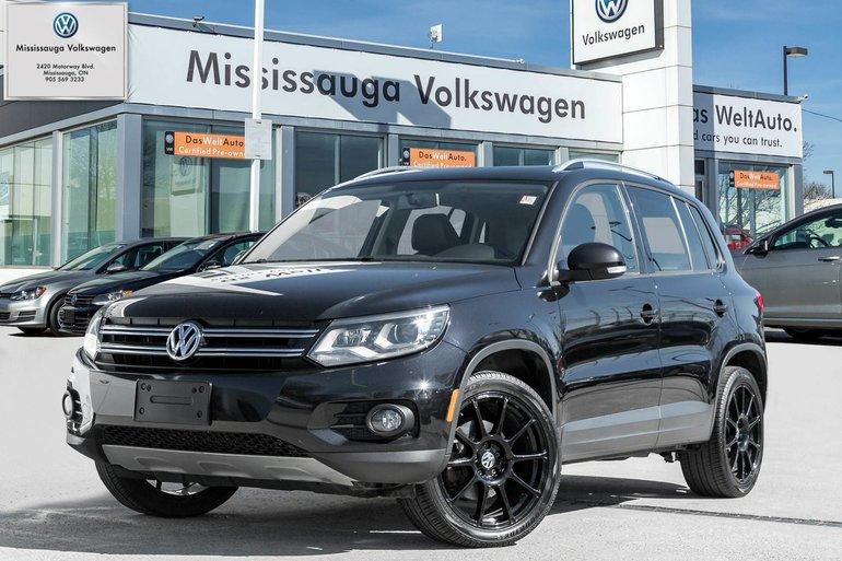 2015 Volkswagen Tiguan Comfortline/ROOF/4MOTION/LOADED