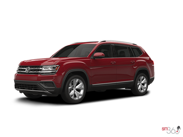 Volkswagen Atlas Trendline 3.6L 8sp at w/Tip 4MOTION 2018