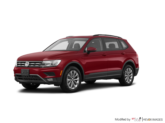 Volkswagen Tiguan Trendline 2.0 8sp at w/Tip 4M 2018