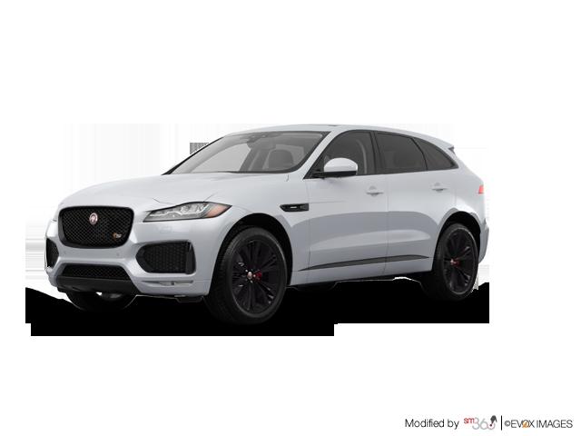 2018 Jaguar F-Pace S AWD (2) - Exterior