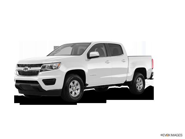 2019 Chevrolet Colorado WT 4WD Crew Cab SW 4WD Work Truck