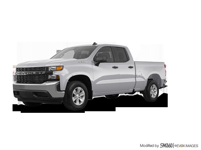 2019 Chevrolet Silverado 1500 4WD Double Cab Work Truck