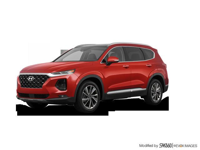 2019 Hyundai Santa Fe LUXURY W/DARK CHROME ACCENT