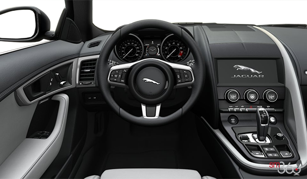 2019 Jaguar F-Type Convertible P300 at - Interior