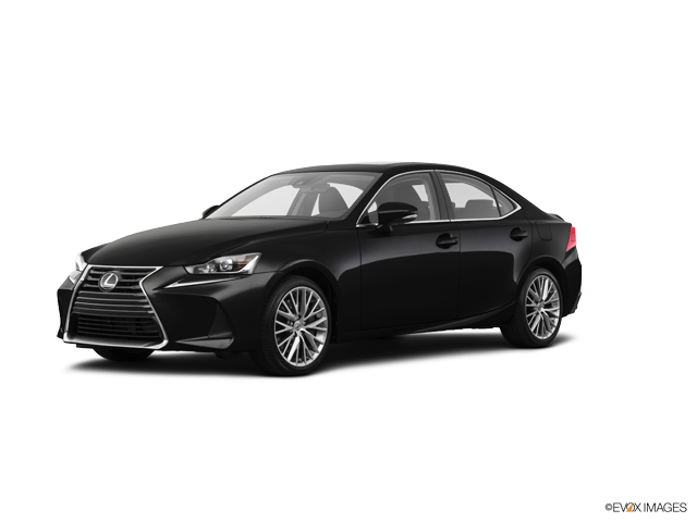 2019 Lexus IS 300 AWD WITH BOOKS NO SD